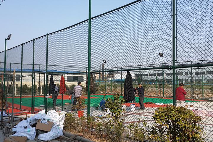 网球场围网案例
