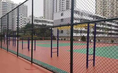夹片式球场围网